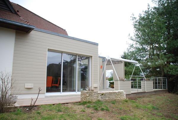 Maison ossature bois for Une maison en bois