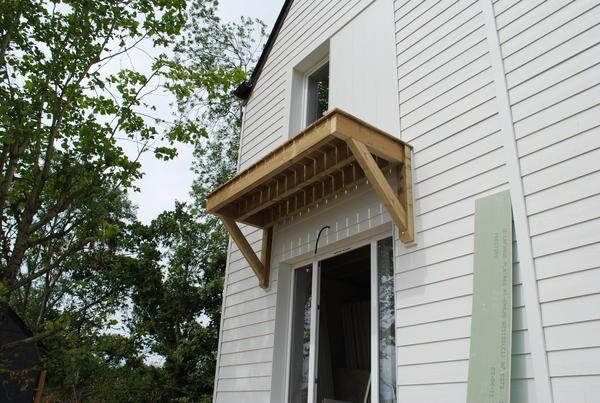 faire un balcon construction maison b ton arm. Black Bedroom Furniture Sets. Home Design Ideas